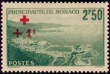 "MONACO N° 210 ""CROIX ROUGE  +1 F SUR 2 F 50 ""  NEUF xx TTB"