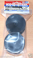 Tamiya 54339 Off-Road Dish Rear Wheels (Black,60/29) (DT02/Rising Fighter) NIP