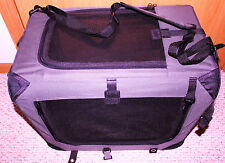 PET CARRIER COLLAPSIBLE/FOLDING FORTE A CRATE GRAY #493