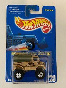1991 Hot Wheels Mercedes Benz Unimog Collector #239