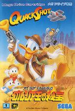 ## SEGA Mega Drive - Quackshot Starring Donald Duck (JAP/JP) - TOP ##