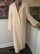 Del Mod Wool Cream Long Duster Swing Jacket