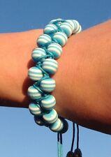 Blue Everyday Beaded Handmade Unique Bracelet Women's Teen NEW - Aussie Seller!