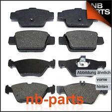 Bremsbeläge Bremsklötze vorne + hinten OPEL ASTRA G F67 F35 F48 F69 ZAFIRA A F75