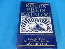 KOLL's Preiskatalog Märklin OO/HO 1981 D.