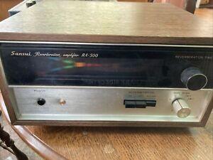 Vintage 1970's Sansui RA-500 Reverberation Amplifier Reverb RA500