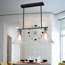 Glass Ceiling Lamp Kitchen Chandelier Lighting Fixtures Bar Modern Pendant light