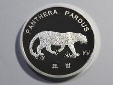Korea 2016, Panthera Pardus 10 Won, 40mm, 1oz Silver Proof