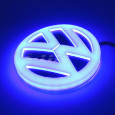4D LED Car Tail Logo Badge Emblem Lights For Volkswagen GOLF BORA CC Tiguan Blue