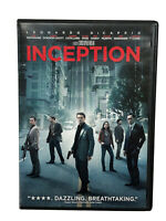 Inception DVD 2010 Christopher Nolan Leonardo DiCaprio Michael Caine