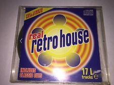 Real Retro House: Various Artists: CD Album: Belgium Techno Trance House: 1997