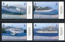 Pitcairn 2013 Passagierschiffe Schiffe Ships Navi Bateaux Postfrisch MNH