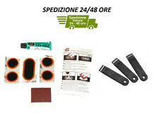 Kit PEZZE repair inner tube drilling mastic TIRE LEVERS for bicycle