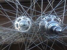 NOS Campagnolo Paramount Pista Clincher Wheels 36h record Mavic Module Rims