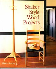 Shaker Style Wood Projects,Robert Sonday