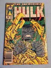 Marvel Comics #343 - THE INCREDIBLE HULK - (May 88 Marvel)