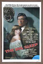The Big Sleep Robert Mitchum Rare Vintage 1978 Original 1 Sheet Movie Poster
