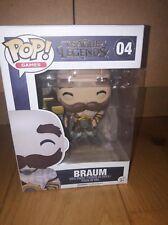 Figurine - FUNKO POP - League of Legends - BRAUM 04 - Neuf - Boîte