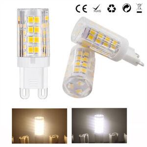 10/1X G9 LED Bulb AC 220V 4W 51leds Lamp 2835SMD light Replace 30W Halogen Lamp