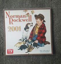 Norm Rockwell  2001 calendar.