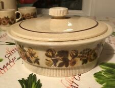 Poole Pottery Thistlewood Tureen /serving Dish With Lid  22.5cm.