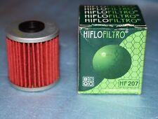 1 filtre à huile Hiflofiltro HF207 Kawasaki KX 250 F SUZUKI RM-Z 250 450 RMX 450