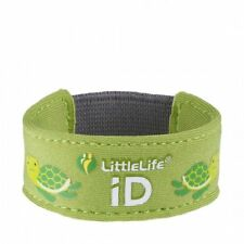 Littlelife Child ID Bracelet - Safety wristband with ID Slips - Turtle