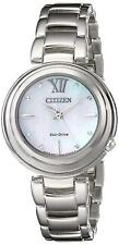 Citizen Eco-Drive Women's EM0330-55D Citizen L Sunrise Silver Watch
