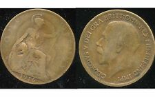 GREAT BRITAIN -  ROYAUME UNI  one penny  1916    ( aus )