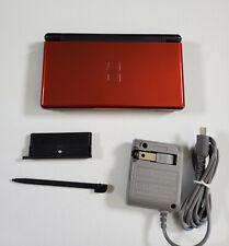 NINTENDO DS LITE USG-001 RED BLACK; TESTED; USG 001 NDS