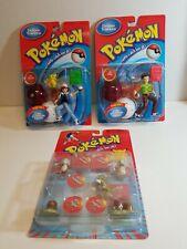 NEW NiP Nintendo Pokemon Deluxe Trainers Lot Action Figures 1998