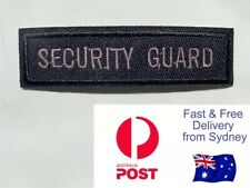 Security Guard Iron On Patch Embroidered Badge Work Jacket Harley Davidson Vest