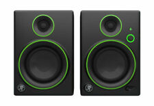 Mackie Studio Monitor, Bt, Black w/green trim, 4-inch (Cr4Bt)