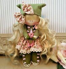 Rag doll handmade in the UK Tilda doll Ooak doll Cloth doll DAISY 6 inch tall