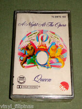 PHILIPPINES:QUEEN - A Night At The Opera TAPE,Cassette,SEALED,RARE!