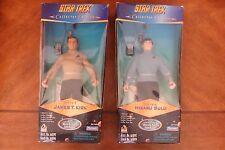 Star Trek Playmates Captain Kirk Hiraku Sulu Collector Series Figures Original 2