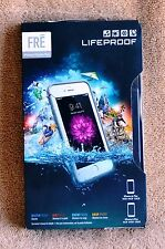 NEW Lifeproof Fre Waterproof Case for iPhone 6 Plus 6S Plus SUPM46145 WHITE/GREY