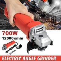 700W 220V Lucidatrice Smerigliatrice Angolare Elettrica Professionale M10 100mm