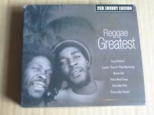Reggae Greatest 2 CD Luxury Edition 2003 Bob Marley New Old Stock