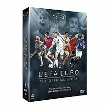 UEFA EURO The Official Story 1960-2008 NEW 4 DVD SET FOOTBALL