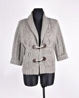 HENRI LLOYD Cardigan Women Wool Sweater Size 3