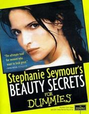 BEAUTY SECRETS FOR DUMMIES-STEPHANIE SEYMOUR paperback