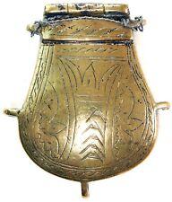 19th CENTURY. CAUCASIAN PATCH or FLINT BOX.TURKISH/GREEK . #9457