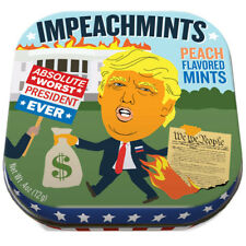 UPG Novelty Mint Tin Trump's ImPEACHmints Gag Gift Peach Mint