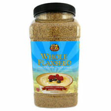 Premium Gold Whole Flax Seed High Fiber Food Omega 3 96oz 100 Natural Organic