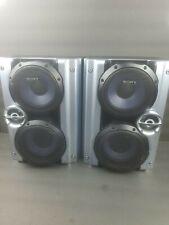 Sony Speaker System SS-RG444 Stereo Bookshelf Left Right Set