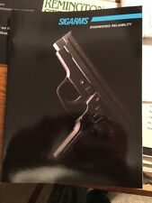 1995 Sig Sauer Catalog And 1995 Kahr K9 Early 4 Page Flyer