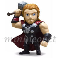 """JADA TOYS 97712 THE AVENGERS AGE OF ULTRON 4"""" THOR METALS DIECAST FIGURE"""