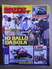 MOTOSPRINT n°36  2002     [Q30]  TEST DUCATI 999 - NOVITA' SUPER KAWASAKI Z 1000