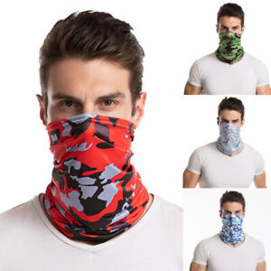 Summer Men's Breathable Sun UV-Protective Bandana Cover Cycling Scarf Face Cover